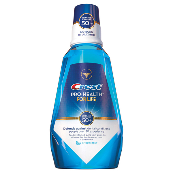 Купить Crest Pro-Health For Life CPC Antigingivitis/Antiplaque Smooth Mint Rinse Киев, Украина