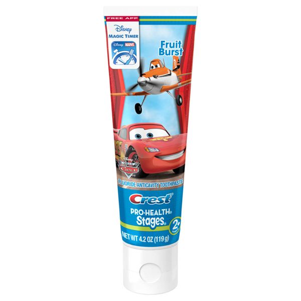 Купить Crest Pro-Health Stages Kids Disney Pixar Cars and Planes Toothpaste