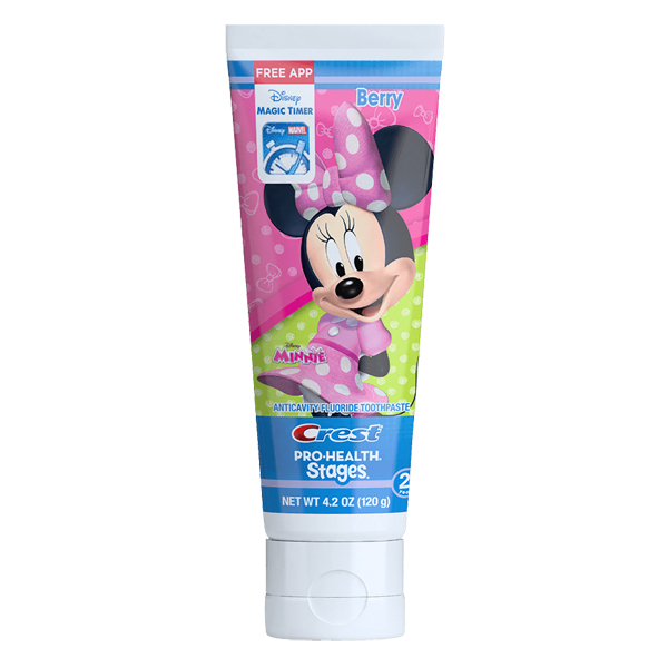 Купить Crest Stages Pro-Health Kids Toothpaste Featuring Disney Minnie Mouse