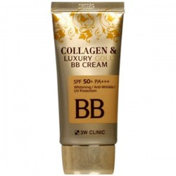 Купить 3W Clinic Collagen & Luxury Gold BB Cream SPF50+/PA+++ Киев, Украина