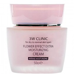 Купить 3W Clinic Flower Effect Extra Moisturizing Cream Киев, Украина