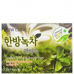 Купить 3W Clinic Herbal Green Tea Beauty Soap Киев, Украина