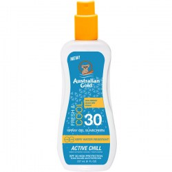 Купить Australian Gold Fresh Cool Spray Gel Sunscreen Active Chill SPF30 Киев, Украина