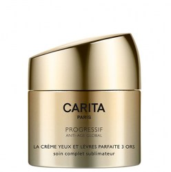 Купить Carita Progressif Anti-Age Global Perfect Cream Trio of Gold for Eyes and Lips Киев, Украина