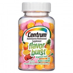 Купить Centrum Flavor Burst Adult Multivitamin Chews Tropical Fruit Flavor Киев, Украина