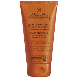 Купить Collistar Smart Reshaping Tanning Cream SPF15 Киев, Украина