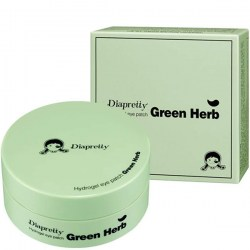Купить патчи для глаз Diapretty Hydrogel Eye Patch Green Herb