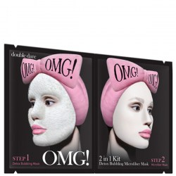 Купить Double Dare OMG! 2 in1 Kit Detox Bubbling Microfiber Mask Киев, Украина
