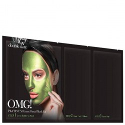 Купить Double Dare OMG! 3 in 1 Platinum Green Facial Mask Kit Киев, Украина