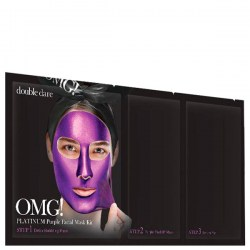 Купить маску для лица Double Dare OMG! 3 in 1 Platinum Purple Facial Mask Kit