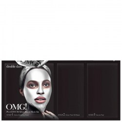 Купить Double Dare OMG! 3 in 1 Platinum Silver Facial Mask Kit Киев, Украина
