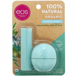 Купить EOS 100% Natural Organic Sweet Mint Shea Lip Balm Киев, Украина