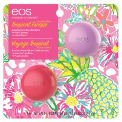Купить EOS Tropical Escape Pink Coconut & Island Punch Lip Balm Киев, Украина