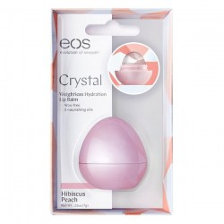 Купить EOS Crystal Weightless Hydrating Lip Balm Hibiscus Peach Киев, Украина