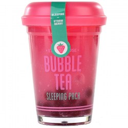 Купить Etude House Bubble Tea Sleeping Pack Strawberry Киев, Украина