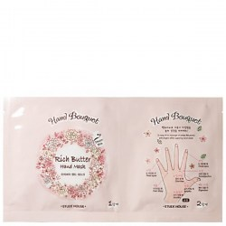 Купить Etude House Hand Bouquet Rich Butter Hand Mask Киев, Украина