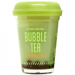 Купить Etude House Bubble Tea Sleeping Pack Green Tea Киев, Украина