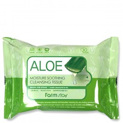Купить FarmStay Aloe Moisture Soothing Cleansing Tissue Киев, Украина