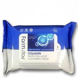 Купить FarmStay Collagen Water Full Moist Cleansing Tissue Киев, Украина