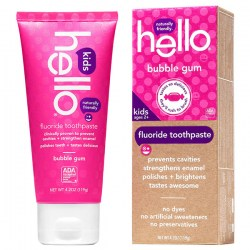 Купить Hello Naturally Friendly Bubble Gum Kids Fluoride Toothpaste Киев, Украина