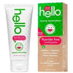 Купить Hello Naturally Friendly Natural Watermelon Fluoride Free Kids Toothpaste Киев, Украина
