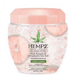 Купить Hempz Herbal Body Salt Scrub Pink Pomelo & Himalayan Sea Salt Киев, Украина