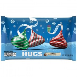 Купить Hershey's Hugs Kisses Milk Chocolate with White Creme Киев, Украина