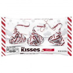 Купить Hershey's Kisses Holiday Candy Cane Mint Candies Киев, Украина