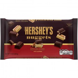 Купить Hershey's Nuggets Special Dark Midly Sweet Chocolate With Almonds Киев, Украина