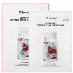Купить тканевую маску для лица JMsolution Derma Care Centella Repair Capsule Mask Clear