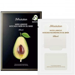 Купить тканевую маску для лица JMsolution Water Luminous Avocado Nourishing In Oil Mask