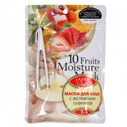 Купить Japan Gals Pure5 Essential Mask 10 Fruits Киев, Украина