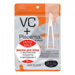 Купить С Japan Gals VC Plus Placenta Facial Essence Mask Киев, Украина