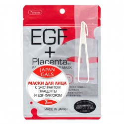 Купитьь Japan Gals EGF Plus Placenta Facial Essence Mask Киев, Украина