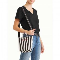 Размер Kendall + Kylie Black Lucite Mini Tote Crossbody