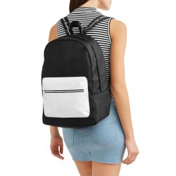 Размер Kendall + Kylie Black White Colorblock Backpack