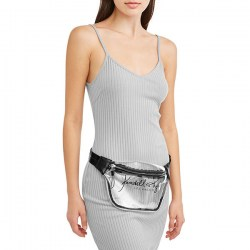Размер Kendall + Kylie Clear Lucite Large Fanny Pack