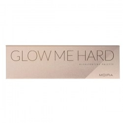 Палетка Moira Glow Me Hard Highlighting Palette купить