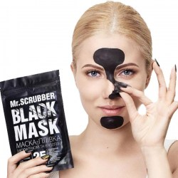Черная маска Mr.Scrubber Black Mask Киев
