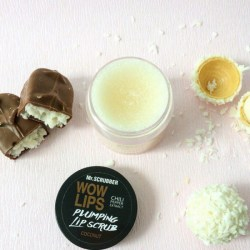 Скраб для губ «кокос» Mr.Scrubber Plumping Lip Scrab Wow Lips Coconut Киев