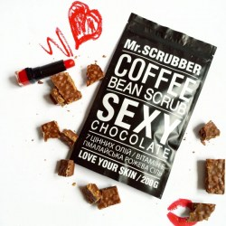 Скраб «шоколад» Mr.Scrubber Sexy Chocolate Scrub Киев