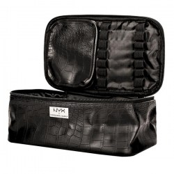 Косметичка NYX Black Croc Zipper Case Киев