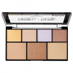 Палетка NYX Strobe of Genius Illuminating Palette Киев