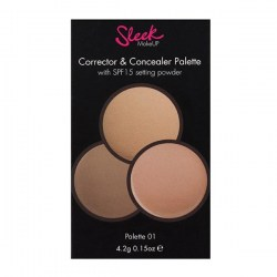 Палетка Sleek Makeup Corrector and Concealer Palette Киев
