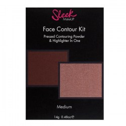 Матовая пудра и хайлатер Sleek Makeup Face Contour Kit