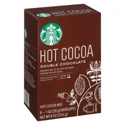 Какао Starbucks Double Chocolate Hot Cocoa Mix из Америки