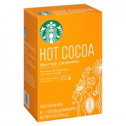 Какао Starbucks Salted Caramel Hot Cocoa Mix из Америки