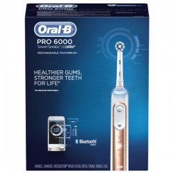 Купить зубную щетку Oral-B Pro 6000 SmartSeries Power Rechargeable Electric Toothbrush with Bluetooth
