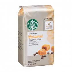 Купить молотый кофе Starbucks Caramel Flavored Coffee Natural Flavor Smooth & Buttery