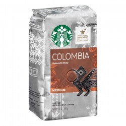 Купить молотый кофе Starbucks Colombia Single-Origin Balanced & Nutty Medium Coffee